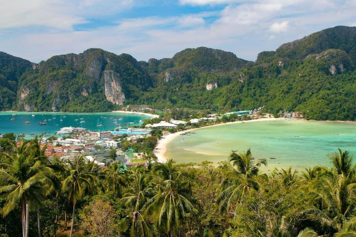 Phi Phi viewpoint Foto: Birds Travels
