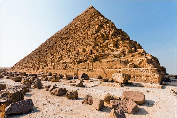 Pirámide de Guiza Foto: San Juan 8