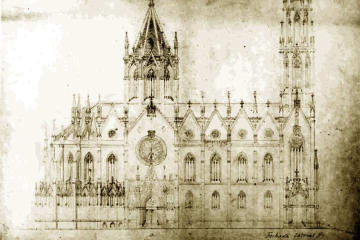 Planos de La Sagrada Familia Foto: Archivo
