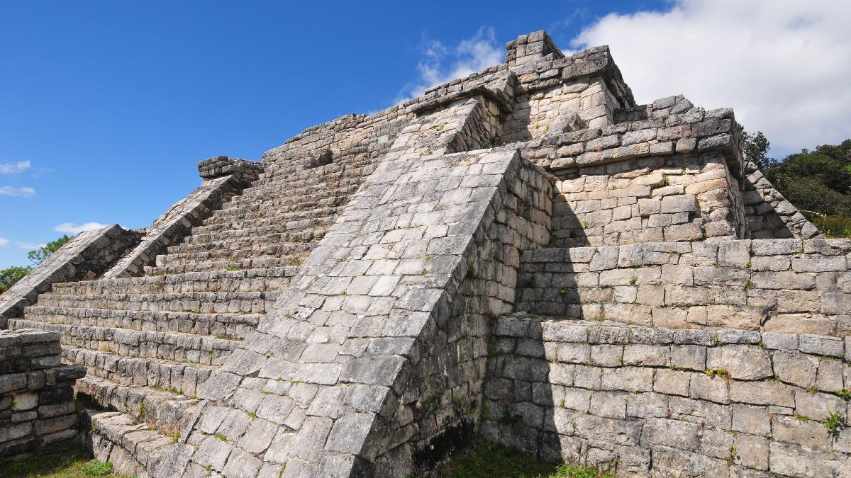 Zona Arqueológica Chinkultic. Foto: Alejandro Saldaña Santana