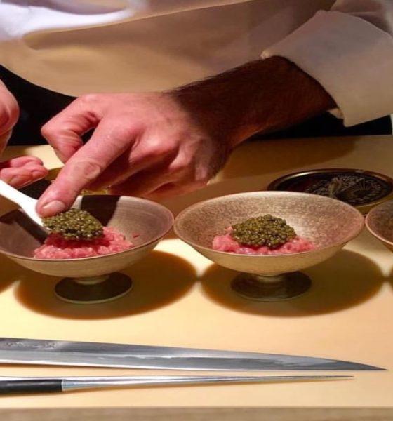 Preparación de platillos Foto: 99 Ko Sushi Bar | Facebook