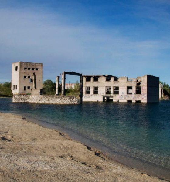 ¿Te atreves a visitar la Prisión abandonada de Rummu? Foto: Ingrid Tiltre