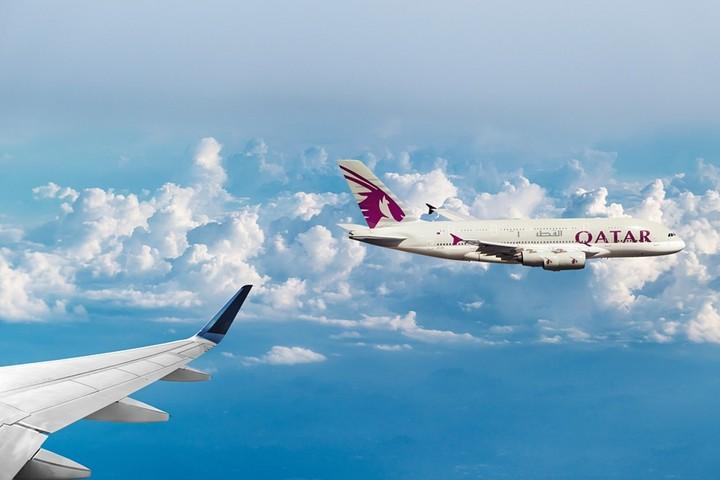Qatar Aviones. Foto Emslichter.