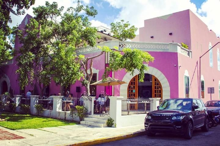 Restaurante con una vista increíble de la naturaleza Foto: Rosas & Xocolate