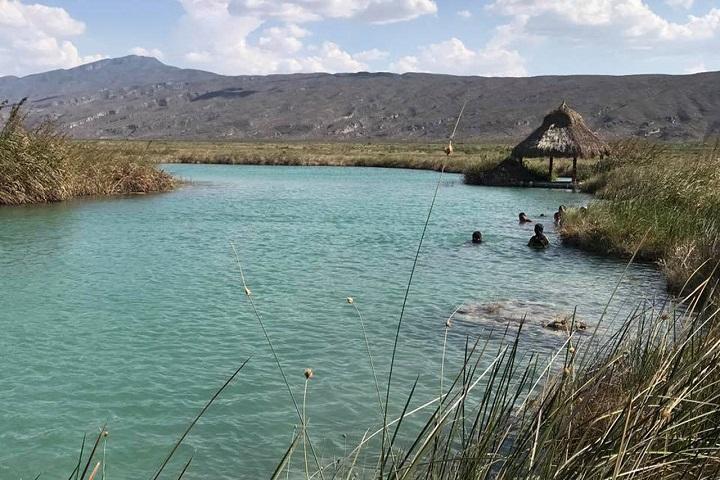 ¿No se te antoja darte un chapuzón en el Río Mezquites? Foto: El siglo de Torreón