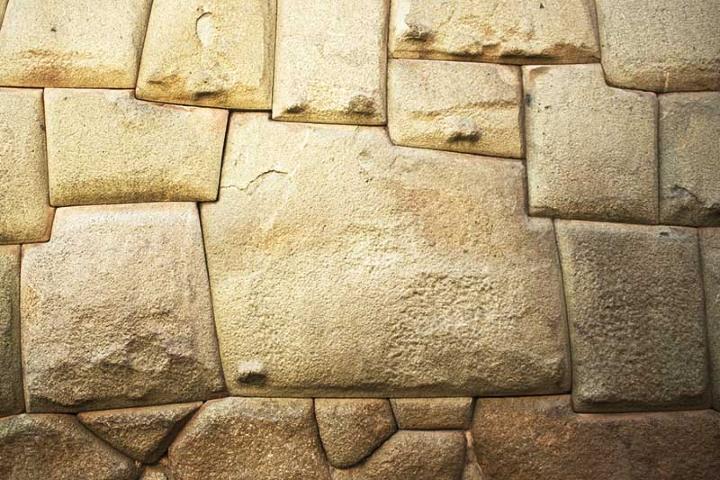 Rocas en Machu Picchu Foto: boleto Machu Picchu