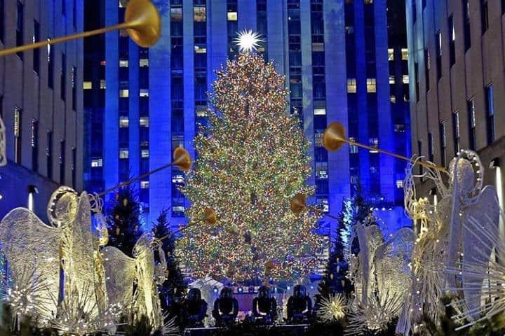 Nueva York, una de las ciudades más bonitas durante Navidad. Fofo: RockeFeller Center