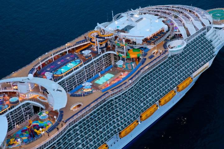 Royal Caribbean Oasis, uno de los cruceros más grandes del mundoFoto: bild.de