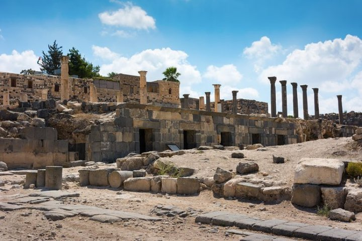 Ruinas Umm Qais, Jordania. Foto: Viator