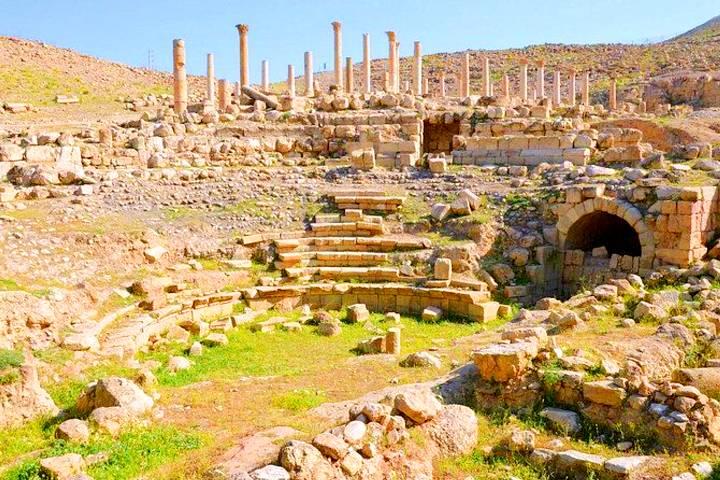 Ruinas de Umm Qais. Foto: GrecaViajes