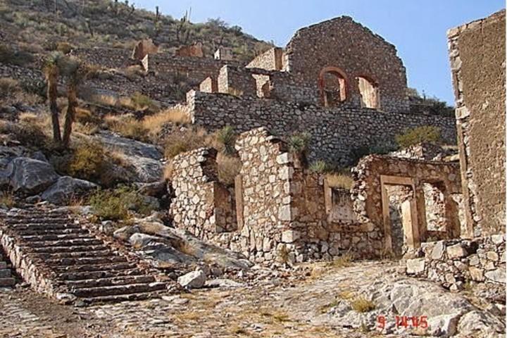 Muros del Pueblo Fantasma de Ojuela Foto: Hoostil Blogspot