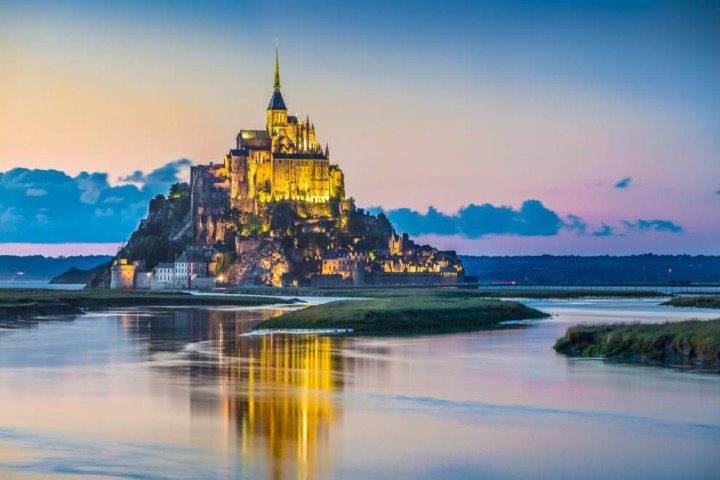 Saint Michel Mont Foto: Bluejayphoto| istock