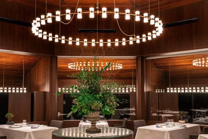 Sala del restaurante Akelarre. Foto: Archivo