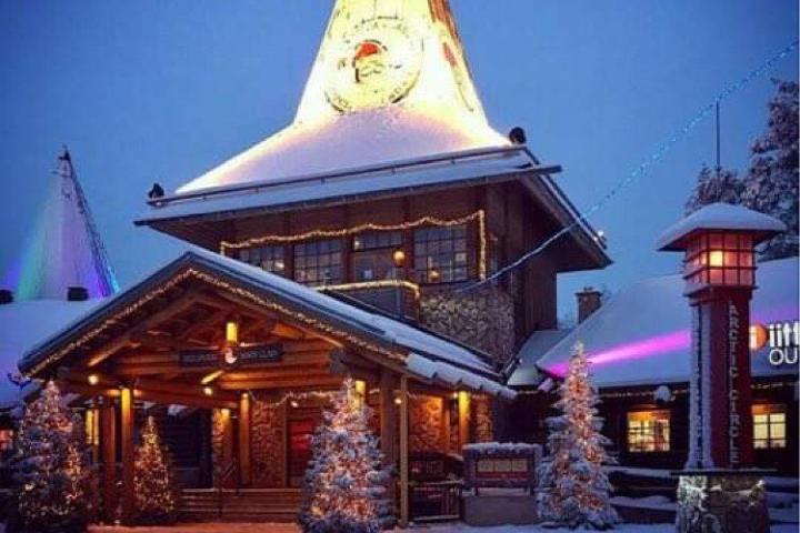 Santa Claus Village en Laponia. Foto: perderssexelmundo