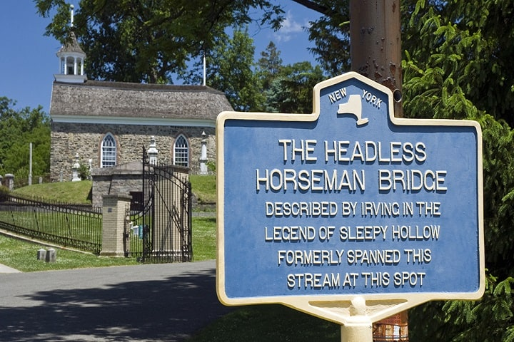 "Dutch Church ""Headless Horseman"" Sleepy Hollow NY"