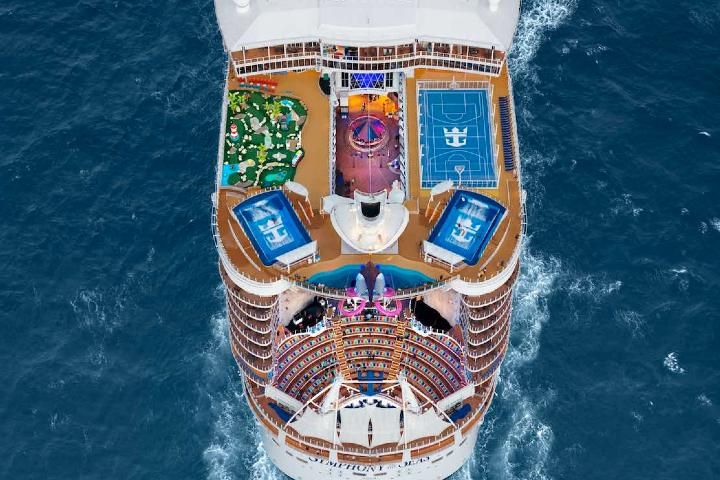 Symphony of the Seas Foto: travel + leisure México