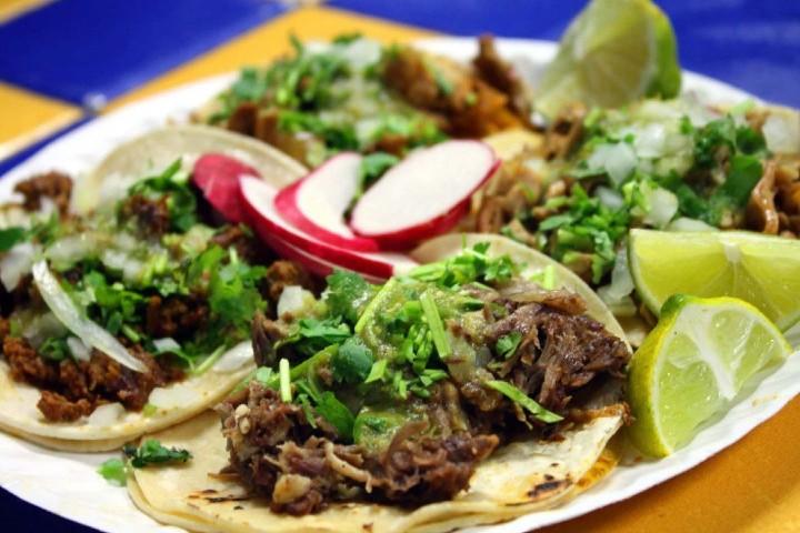 Tacos tradicionales de México