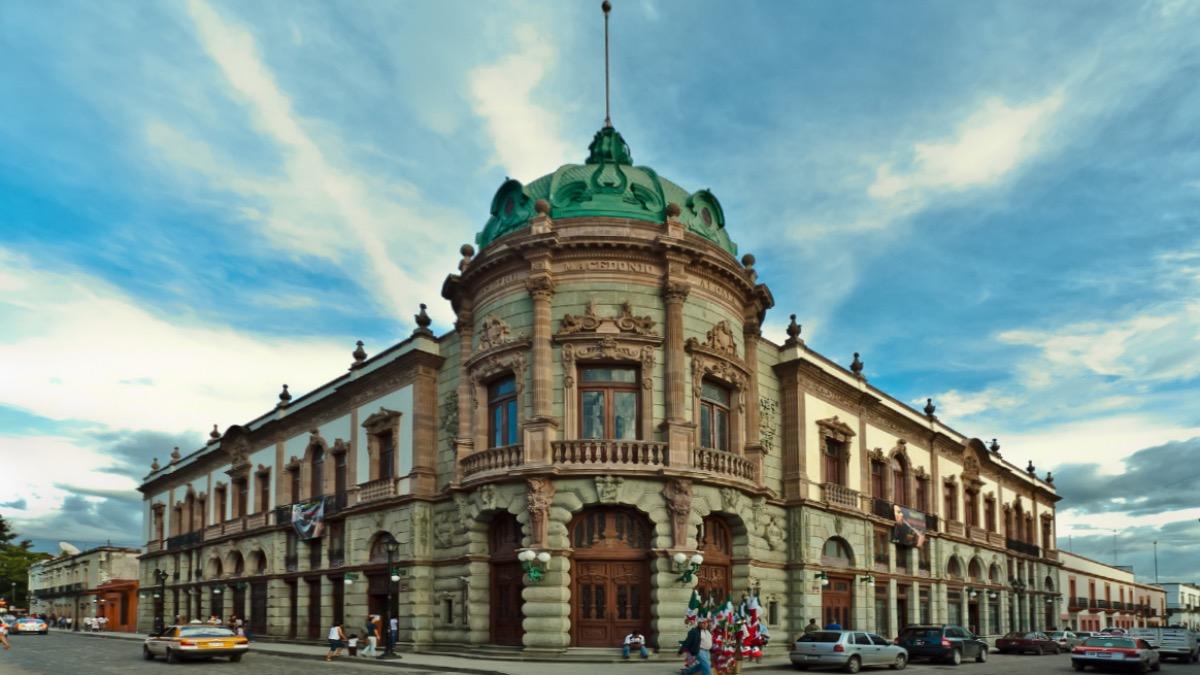 Teatro Macedonio Alcalá, Oaxaca. Foto: Raúl Calderón