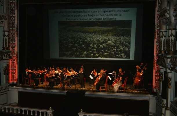 Teatro macedonio Alcalá. Arte. Foto: Archivo
