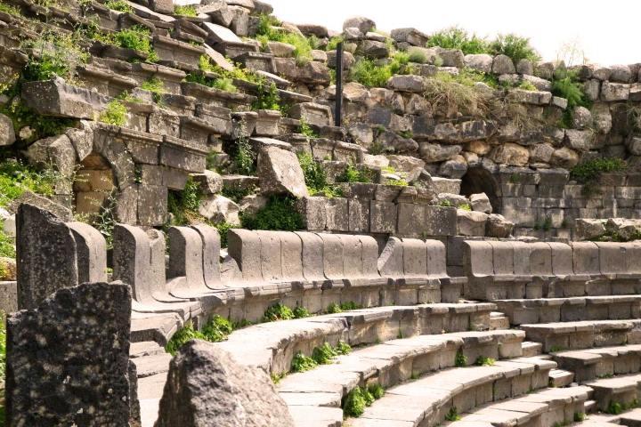 Teatro Oeste Foto: Visita Jordania