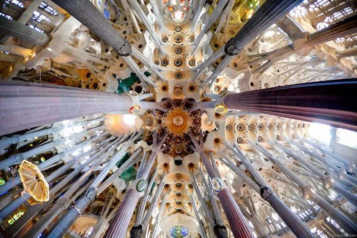 Techo de la Sagrada Familia Foto: Archivo