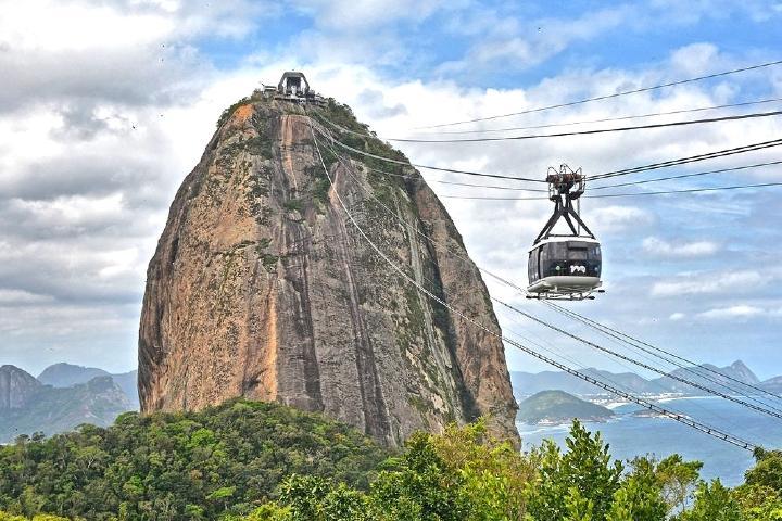 Teleférico de Pan de Azúcar. Foto: Raúl Ferreras