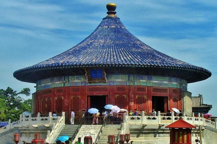 Este es el Templo del Cielo en el que se resguarda el Buda Tian Tan. Foto: Guías Viajar