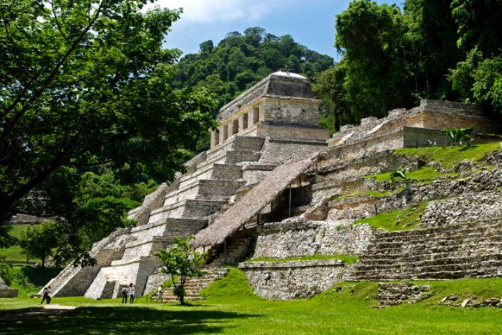 Templo de las Inscripciones, Palenque, Chiapas. Foto: Guilgeopat
