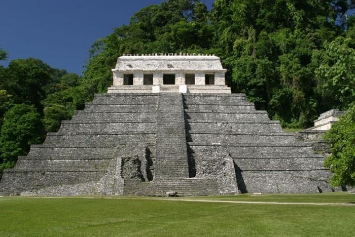 Imponente, ¿No? Así es el Templo de las Inscripciones. Foto: Pinterest