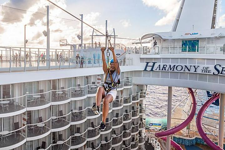 Tirosela Harmony of the Seas Foto: Royal Caribbean