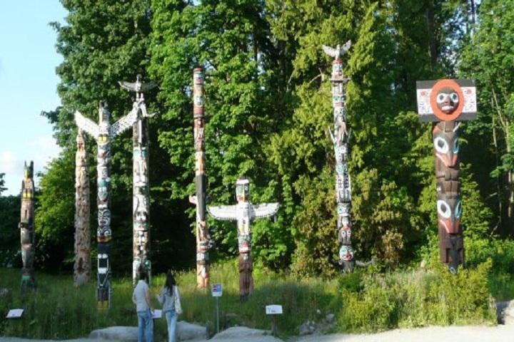 Los tótems simbolizan las uniones de las etnias canadienses, ¿Lo sabías? Foto: Info Vancouver