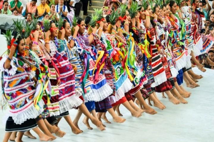 Una hermosa danza mexicana Foto_ Gobierno de Tuxtepec