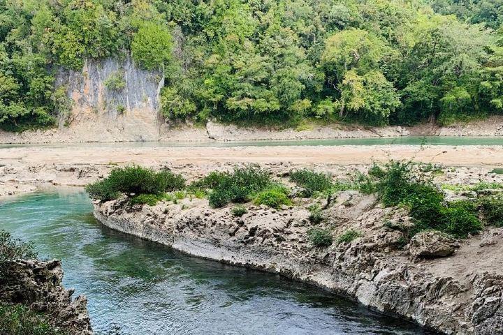 Esta es la vista de un remanso del Río Usumacinta. Foto: malbertmj