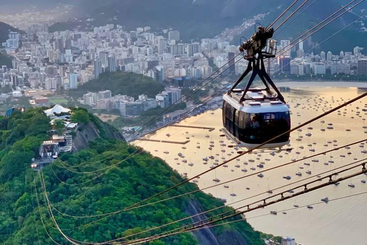 Vista desde el teleférico más famoso de Brasil. Foto: Davi Acosta