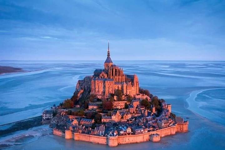 Vista desde las alturas Foto: Saint Michel Moint