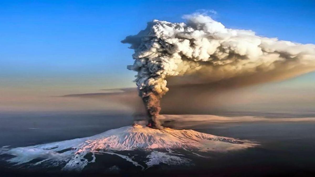 Volcan Etna Erupción Foto: La reserva