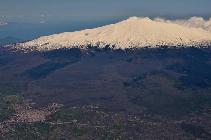 Volcán Etna Nieve Foto: Marco Felle