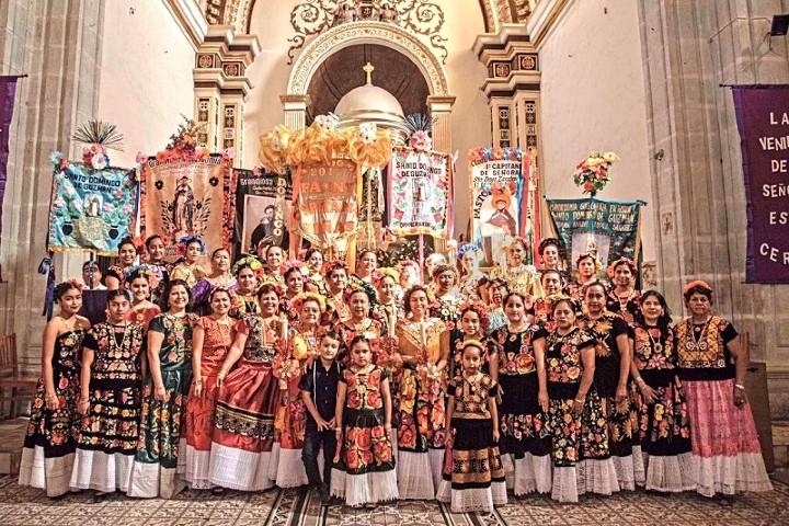 El catolicismo es el motor de Las Mayordomías. Foto: pagina 3