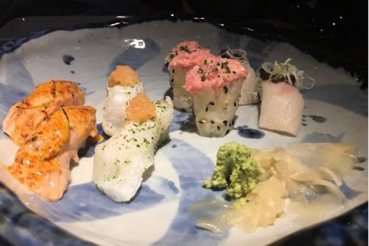 Sushi de primera calidad Foto: De las cosas del comer