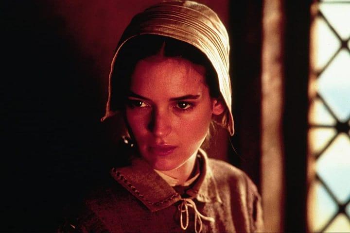 "Winona Ryder en ""The Crucible"". Foto: Amazon"