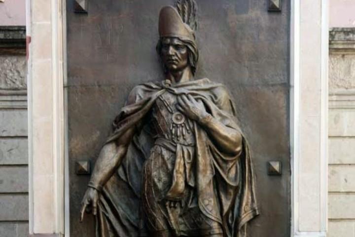 Escultura creada por Jesús F. Contreras par el Monumento a la Raza. Foto: institutohistorico