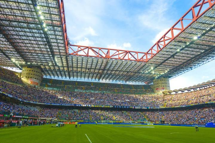 estadio San Siro de Milán. Foto Viator