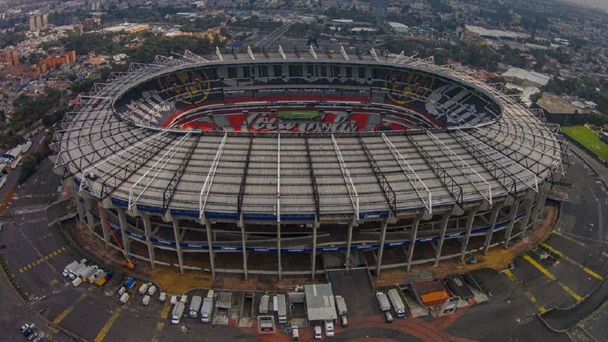 El Grandioso Estadio Azteca te espera para ver a tu equipo y artista favorito. Foto: Fox Sports