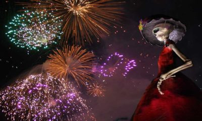 Festival de Calaveras en Aguascalientes. Foto Archivo