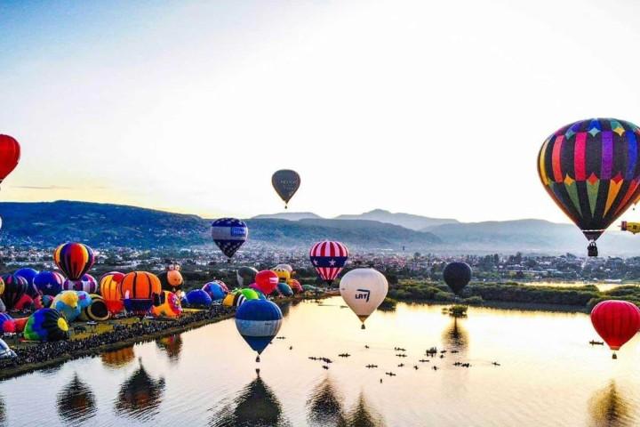 El cielo de Guanajuato se llenará de globos. Foto: La silla rota Guanajuato