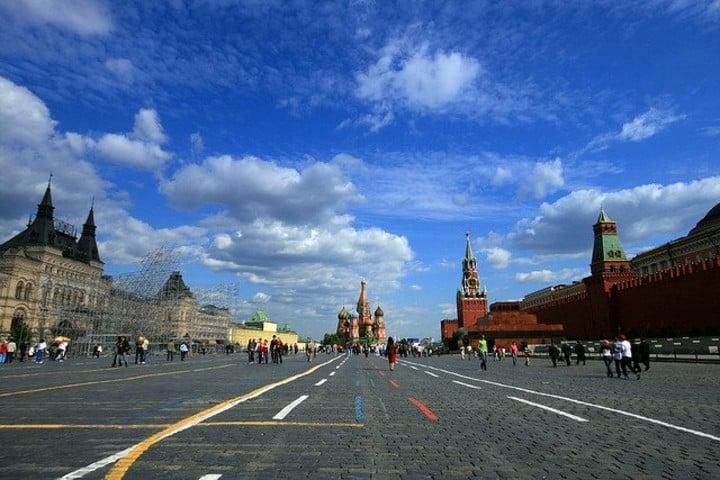 Kilometro cero en Moscú Foto: 101 viajes