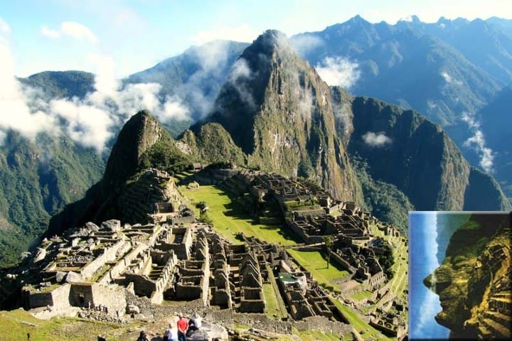 Es asombroso como se ven todas las facciones del rostro Foto: Machu Picchu