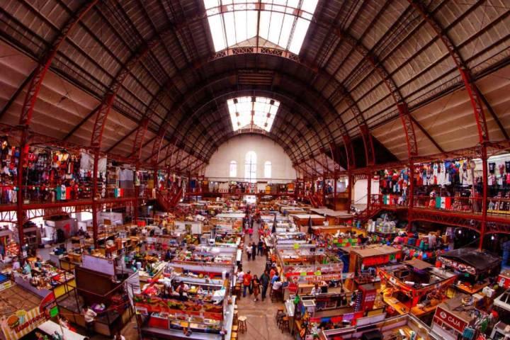 Mercado Hidalgo en Guanajuato Foto: La silla rota Guanajuato