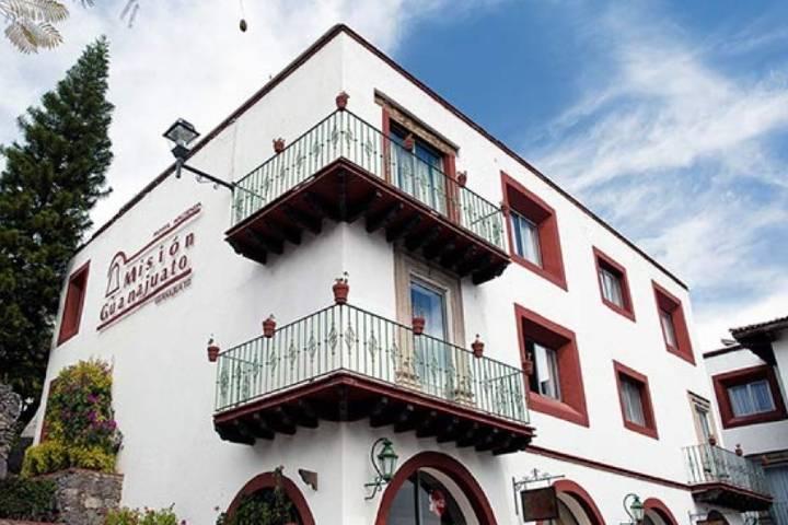 Hotel Misión en Guanajuato Foto: El economista