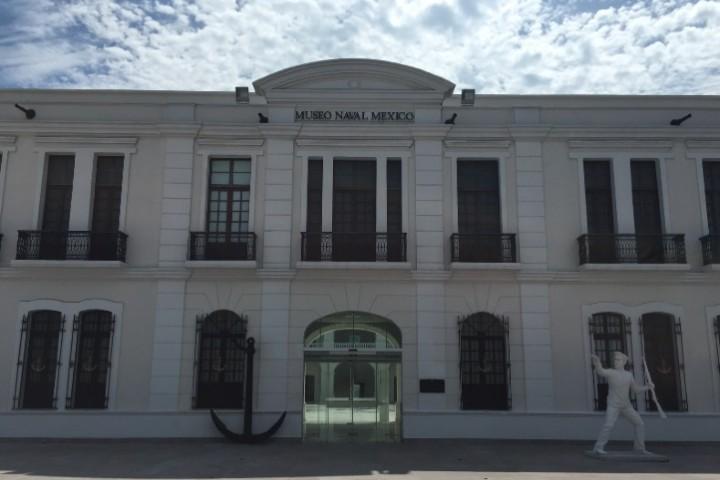 Museo Naval de Veracruz remodelado Foto: Mochilero Soy